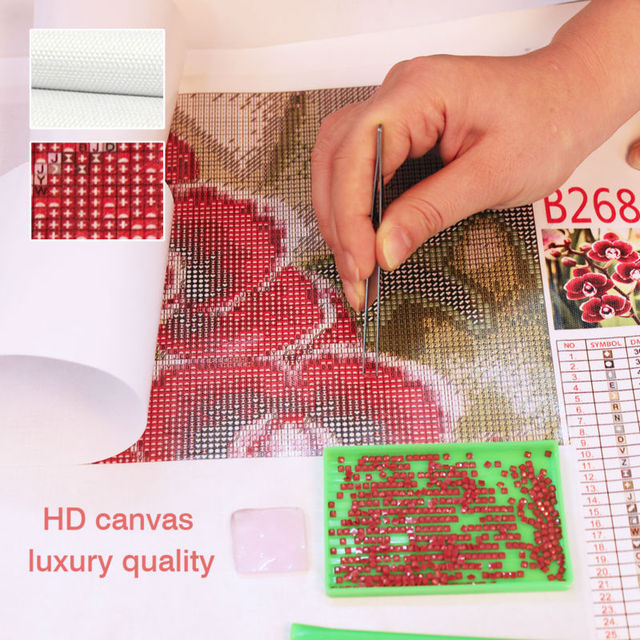 5D Diamond Painting Landscape DIY Rhinestones Embroidery 4PCS Full Square Crystal Cross Stitch Needlework Wall Decor Arts Gifts