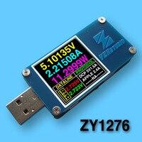 YZXstudio couleur mètre QC3.0 PD rapide de charge dragon USB courant et tension capacité testeur de détecteur