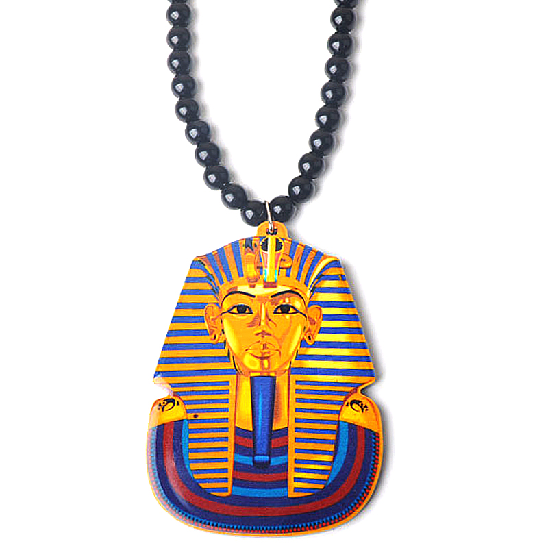 New Brand Hip Hop Tutankhamun Gold Egypt Pharaohs Pendant Necklace ...