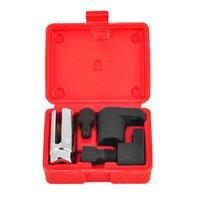 5 pçs sensor de oxigênio chave soquete kit ferramenta chaser rosca apto para todos os auto o2 instalação remoção do soquete instalar offset vácuo