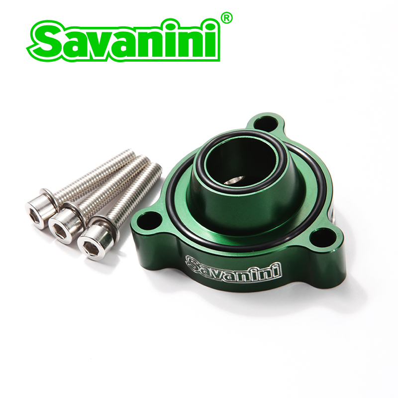 Savanini Blow Off Valve Adaptor For BMW N20 and MINI Cooper 2.0T Engine F30 3series 5 series turbo. Aluminum alloy! image