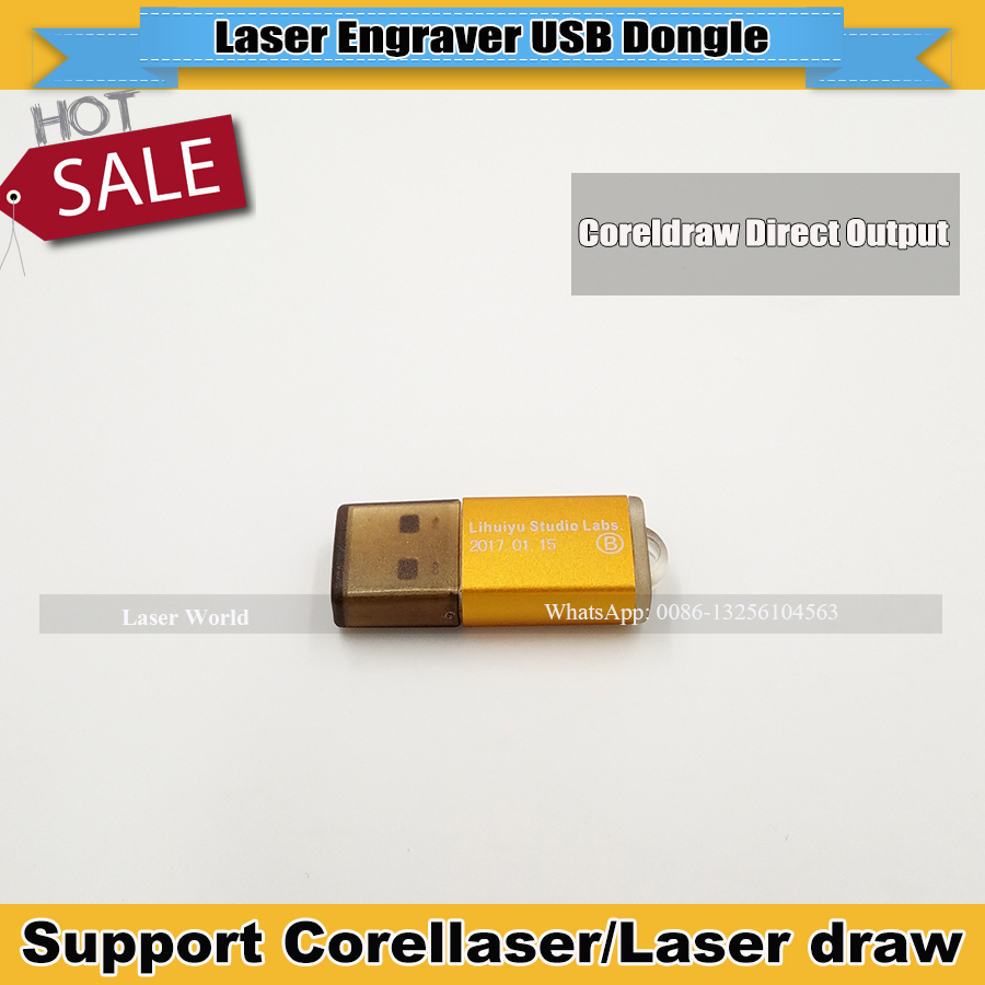 USB Dongle Key Support Corellaser And Laser Draw Software Used  For Laser Engraver Machine  Free Shipping