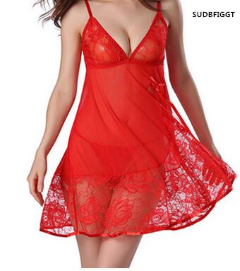 NEW 2017 women sexy lingerie High quality ladies full lace slips S-XXL