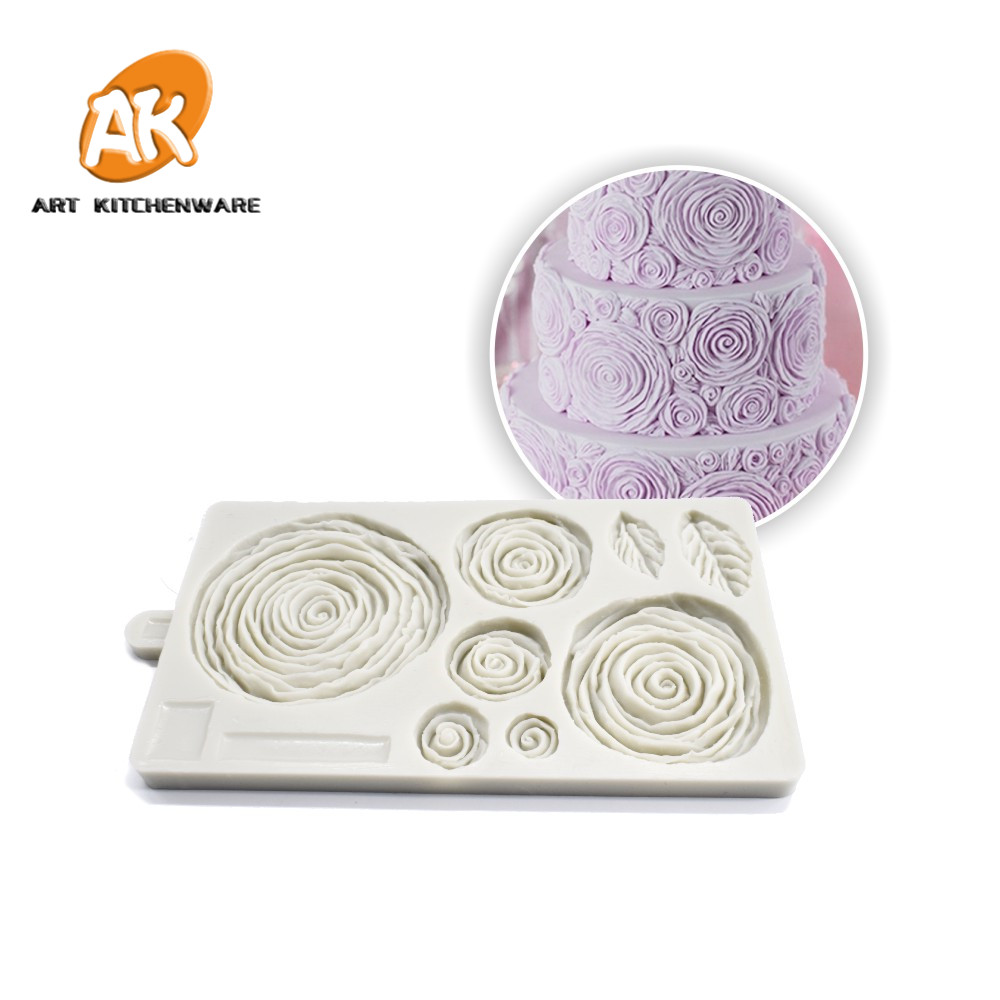 Practical Silicone Handmade Soap Mold 6 Holes Rectangular Pastry Molds Silicone Cake Bakeware Molds Ease Of Handling