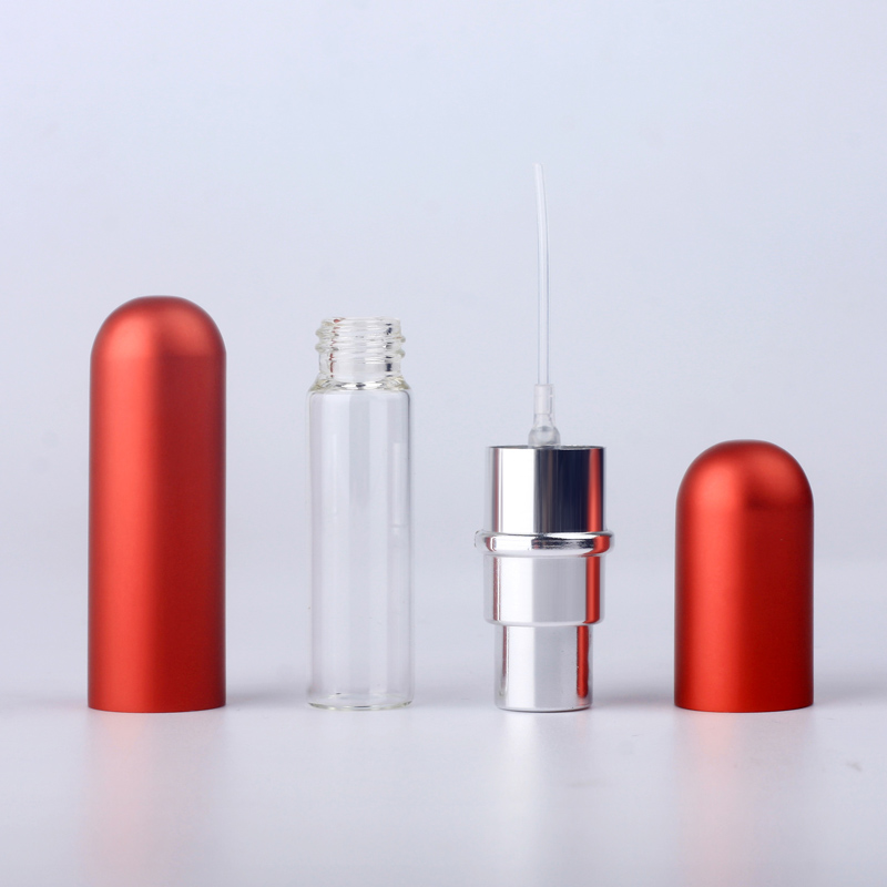 de bomba de alumínio de vidro recipientes cosméticos