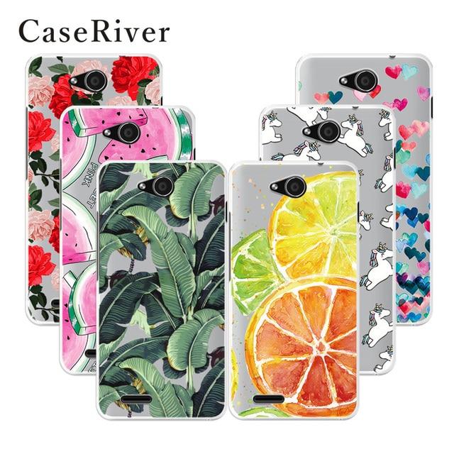 CaseRiver Soft TPU Silicone ZTE Blade GF3 Case Cover Printed Phone Back Protective ZTE Blade T320 Case ZTE GF3 T320 GF 3 Case