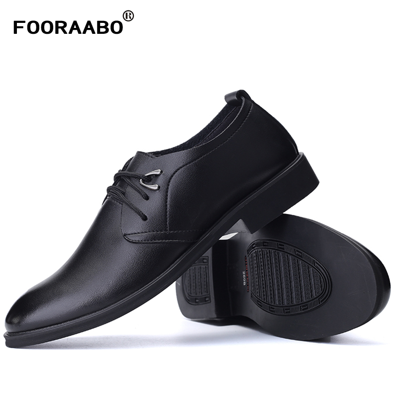 2017 Hot Sell Formal Shoes Leather Men Dress Shoes Fashion Brand Luxury Men's Business Casual Classic Gentleman Shoes Man fashion men shoes genuine leather men casual shoes brand luxury men s business classic gentleman shoes handmade high quality