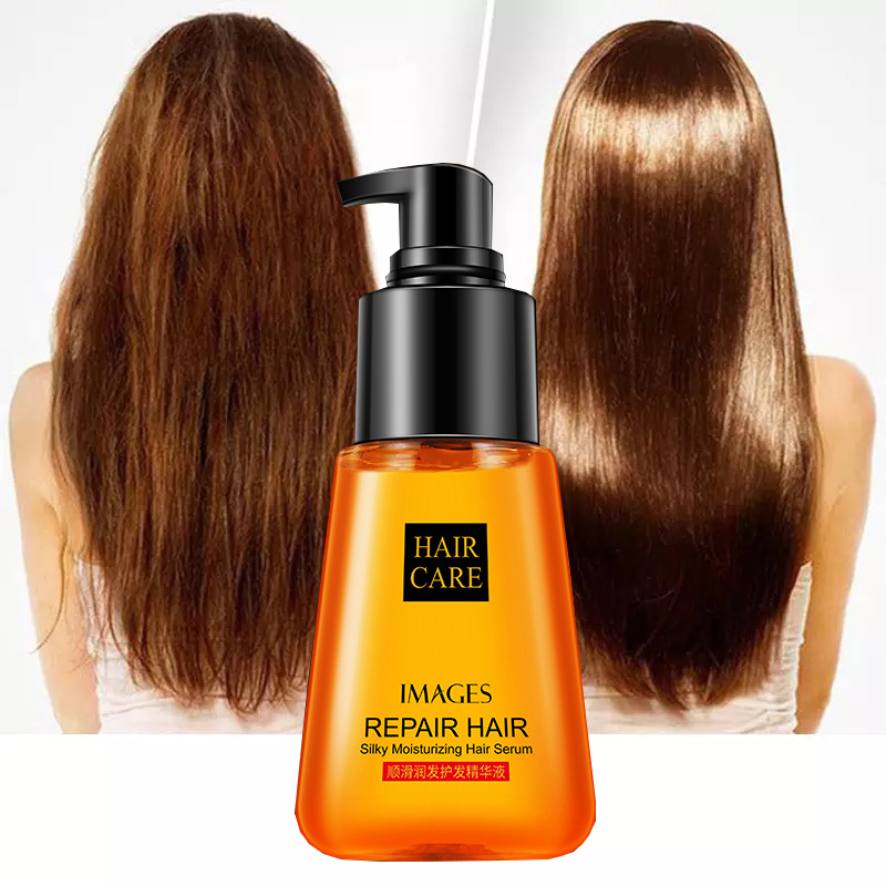 Keratin Hair Oil Argan Serum Care Mask Treatment Repair Dry Curly Hairs Growth Loss Product 70ML Straightening Natural Vitamin D