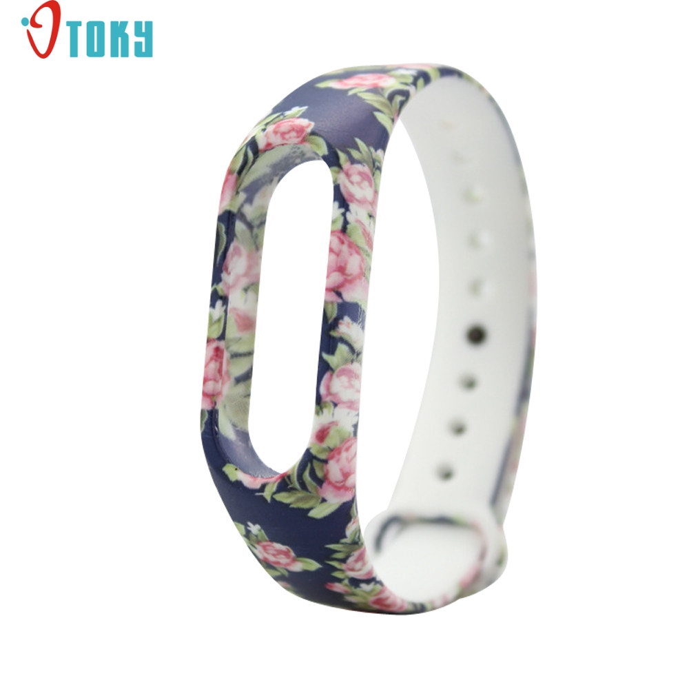 fashion Replacement Silica Gel Wristband Band Strap For Xiaomi Mi Band 2 Bracelet H30 AUG28 new fashion original silicon wrist strap wristband bracelet replacement for xiaomi mi band 2 dignity 8 9