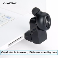 AIDM M1 Stereo Mini Bluetooth 4 1 Headset Wireless Earphones Touch Control Airpods In Ear Earpiece