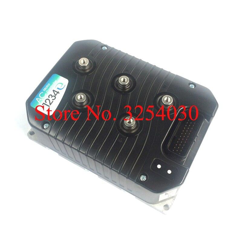 Полезный контроллер электродвигателя переменного тока CURTIS 350A 36 48V 1234E 5321 для электрических вилочных погрузчиков