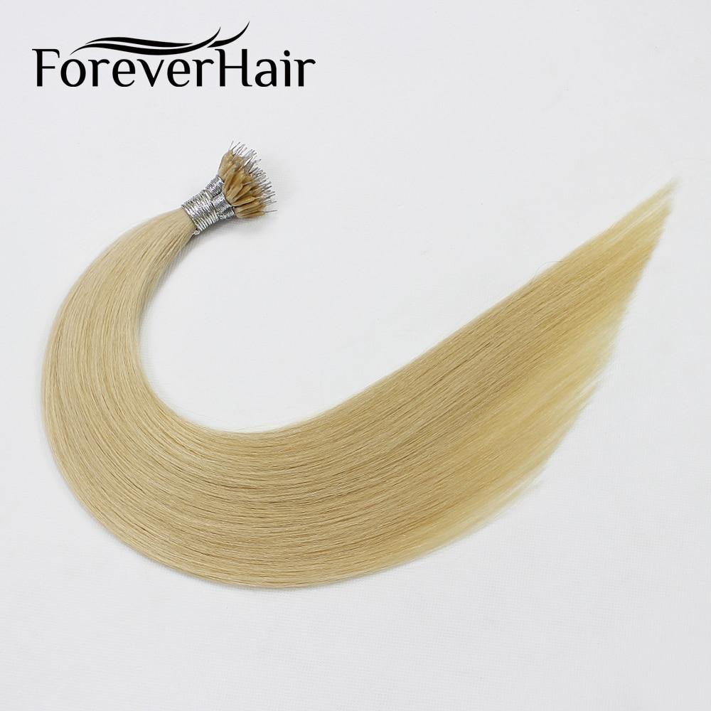Immer Haar 0,8 Gr/sek 16 18 20 remy Mikroring-perlen-menschenhaarverlängerung Haarverlängerungen Blonde #22 Europäischen Vor Verbundene Nano Ring Extensions Haarverlängerungen