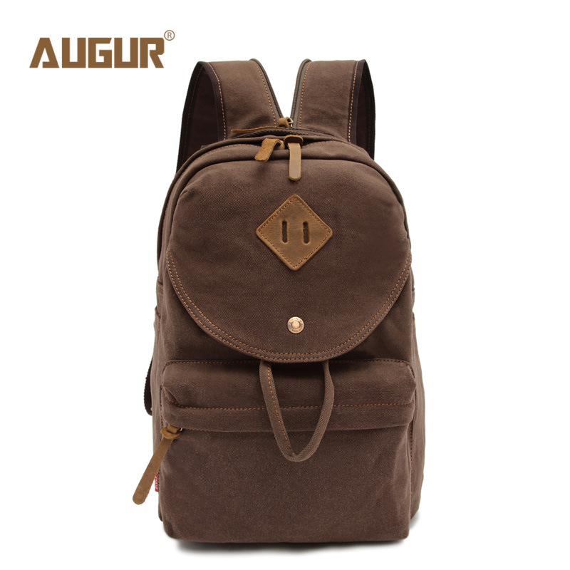 AUGUR Fashion Men Women's Backpack Canvas Travel Laptop Bag Teenagers Student School Bags Rucksacks Famale Backpacks 2017 new masked rider laptop backpack bags cosplay animg kamen rider shoulders school student bag travel men and women backpacks