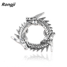 Fashion Movie Game of Thrones Series Hot Sale Song Ice and Fire Power Of The Original Metal Badges Dragon Icon Brooch