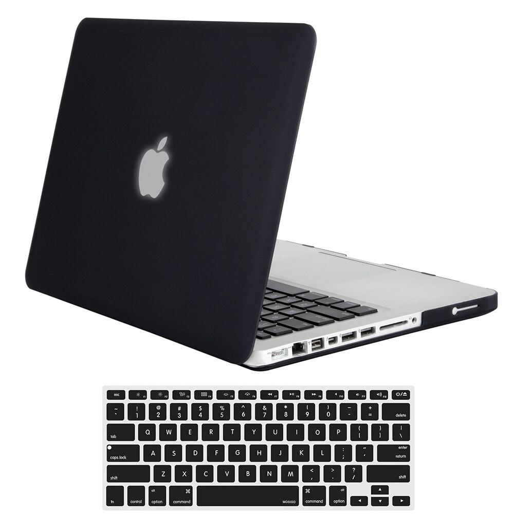Mosiso Dur Cas pour Macbook Pro 13 15 CD Lecteur Vieux 2008 2009 2010 2011 2012 Type A1278 A1286 + Silicone clavier couverture