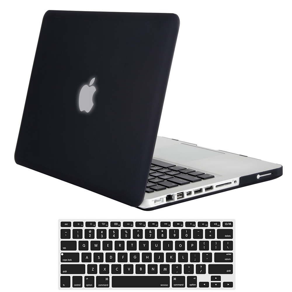 Mosiso Matte Hard Carry Case For Macbook Pro 13 15 CD Drive Notebook Case Accessories 2012 A1278/A1286 + Silicone keyboard Cover