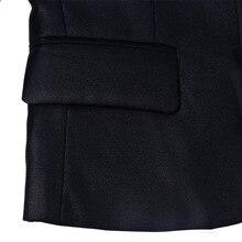 New Fashion Light Shining Black Solid Primary Boys School Uniform Boys Suits Set for Wedding 2T-7T