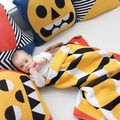 Chirstmas Knitting Baby Blankets Yellow plaid  Baby Bedding Air Conditioning Blanket  Bath Towels Play Mat
