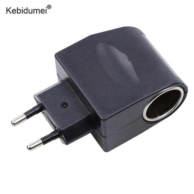 Kebidumei Car Charger 110v 220v Ac To 12v Dc Eu Us Plug Auto Adapter Converter Household Cigarette Lighter Socket