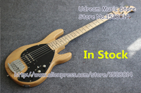 Hot Sale China OEM Nature Wood 5 String Suneye Music Man Electric Bass Guitar In Stock