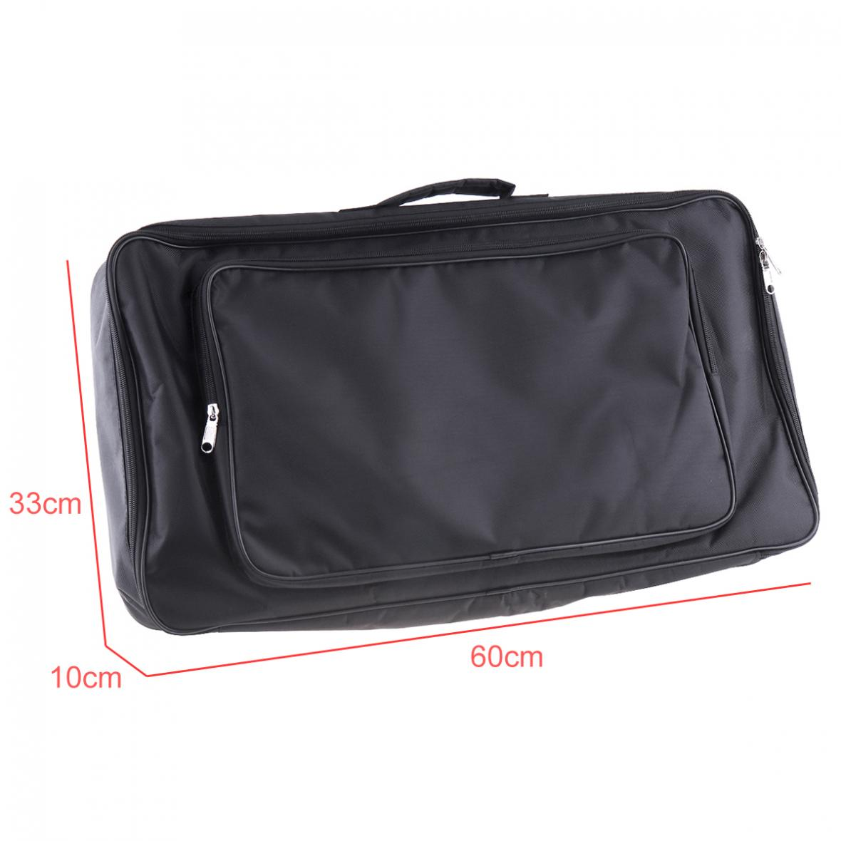 Image 5 - 60*33*10cm Black Universal Portable Guitar Effects Pedal Board Gig Bag Soft Case Big Style  DIY Guitar Pedalboard-in Guitar Parts & Accessories from Sports & Entertainment