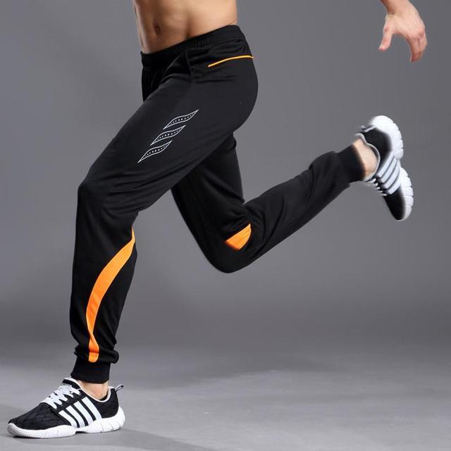 pantalones deporte chandal skinny football Men soccer training pants mens Fitness Hiking Tennis Jogging sweatpants trousers