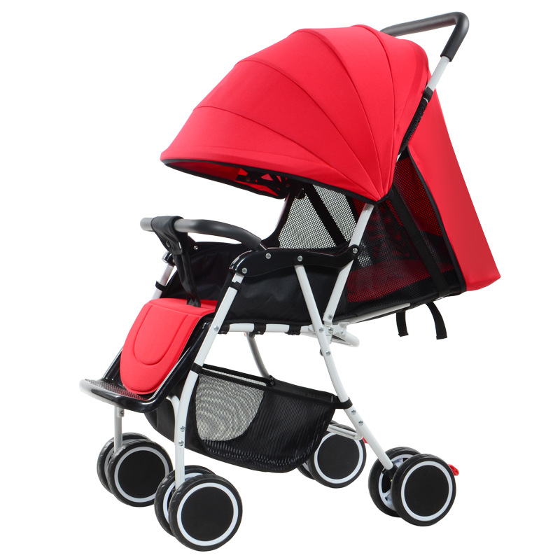 Baby carriage stroller lightweight Portable traveling stroller baby stroller Can sitting lying strollers for newborns lightweight strollers aiqi ultra light white frame good quality baby stroller baby umbrellacar boarding stroller accessories