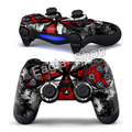 2 PCS Resident Evil Umbrella Skin for PS4 Controller Stickers for Playstation 4 Decals Stickers