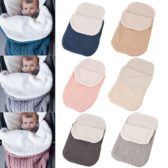 Hot Selling Winter Autumn Newborn Baby Blanket Swaddle Sleeping Bag Kids Toddler Stroller Wrap