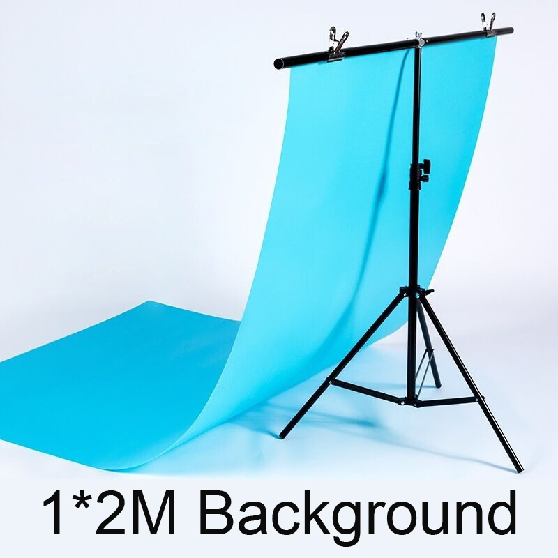 Photo Studio Type-T 100*200cm Aluminum Background Frame with PVC Background Board Screen Backdrop for Image mattingPhoto Studio Type-T 100*200cm Aluminum Background Frame with PVC Background Board Screen Backdrop for Image matting