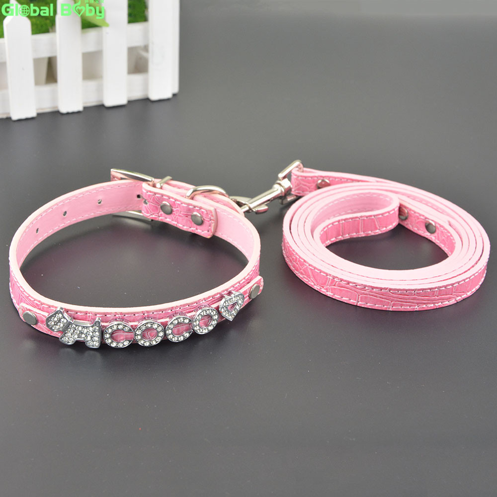 5 Colors Snake Pu Қожа 10MM Free Letters and Charm Name Dog Pet - Үй жануарлары өнімдері - фото 6