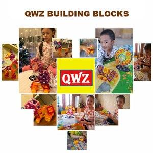 Image 5 - QWZ 252 stücke Magnetische Blöcke Mini Magnetische Designer Bau 3D Modell Magnetische Blöcke Pädagogisches Spielzeug Für Kinder Kid Geschenk