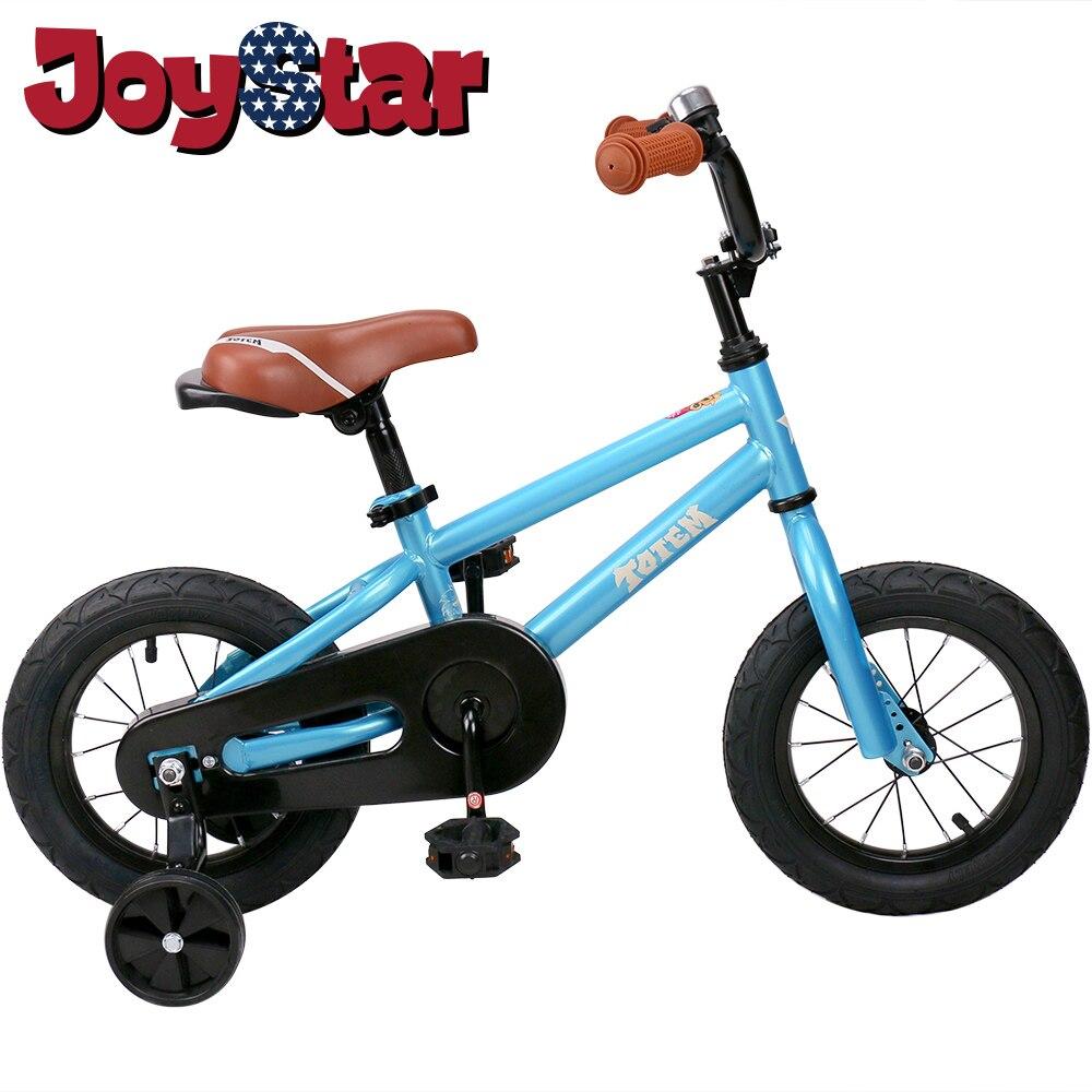 Vélo enfants pour filles et garçons, roues d'entraînement pour 12 14 16 pouces vélo, béquille pour 18 pouces vélo enfant vélo enfants bébé vélo
