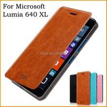 Для Microsoft Lumia 640 XL чехол Роскошные Флип кожаный чехол подставка для Nokia Lumia 640 XL книга Стиль чехол телефона