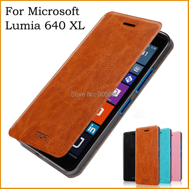 For Microsoft Lumia 640 XL Case Luxury Flip  Leather Stand Case For Nokia Lumia 640 XL Book Style Phone Cover