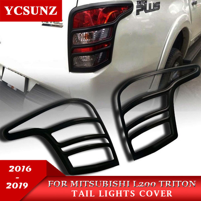 2016 2019 abs car strips trim for mitsubishi l200 triton accessories