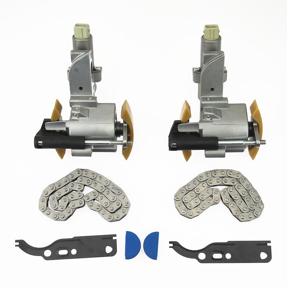 DOXA 2Set L+R Camshaft Timing Chain Tensioner+Gasket Suite 2.4 2.6 2.7 2.8T V6 Engine For A4 A6 Passat B5 078109087C 078109088C