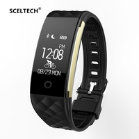 SCELTECH S2 Sport Smart Band wrist Bracelet Wristband Heart Rate Monitor IP67 Waterproof Bluetooth Smartband For iphone Android
