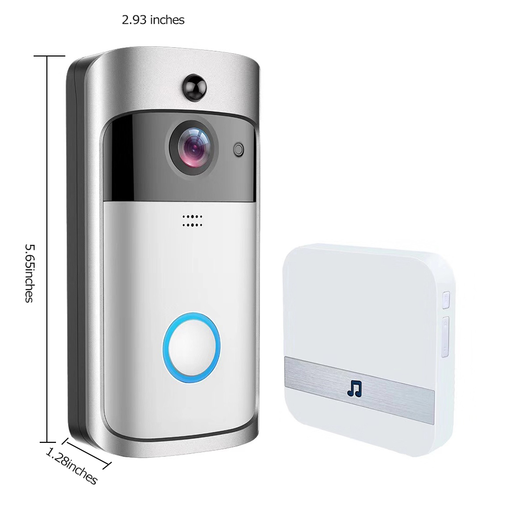 Image 4 - GEEKAM WiFi Video Doorbell V5 Smart IP Video Intercom WI FI Video Door Phone For Apartments IR Alarm Wireless Security Camera-in Doorbell from Security & Protection
