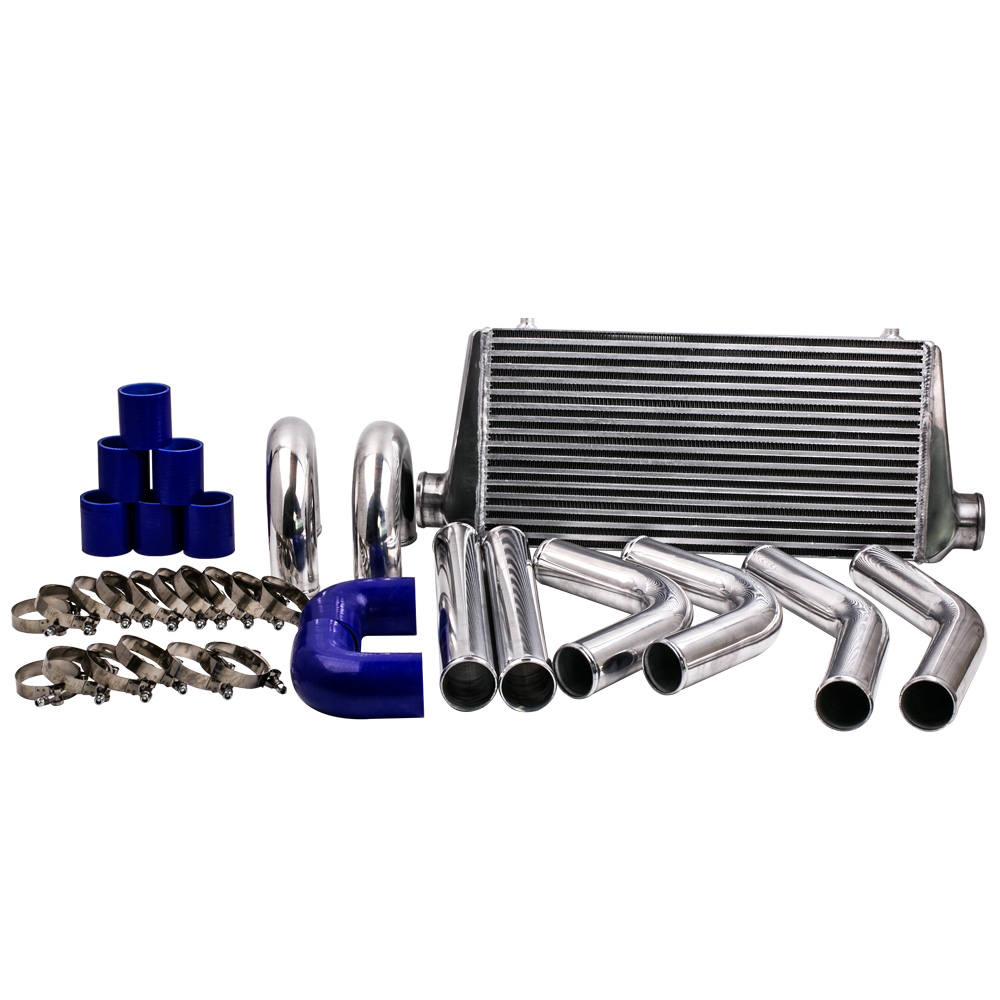 600x300x76 turbo Inter cooler 3.0 In/Outlet and 2.5 63mm Intercooler Pipe Kit