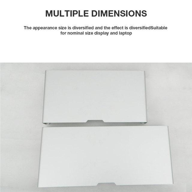 Aluminium podstawka do laptopa biurko stacja dokująca uchwyt do apple imac/Tablet/MacBook Pro/komputera/notebooka podstawa przenośny stojak na laptopa