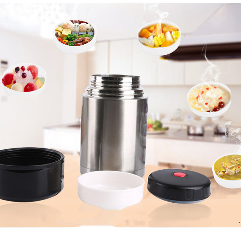 1200ML 304 Stainless Steel Thermos Lunch Box for Hot Food with Containers Vacuum Flasks Thermoses Thermo Mug Food Container Cup in Vacuum Flasks Thermoses from Home Garden