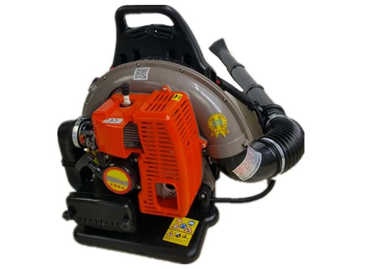 Professional 68CC Commercial Backpack Garden Yard Petrol Leaf Blower 2-Strokes Outdoor Gasoline Air Leaf Blower