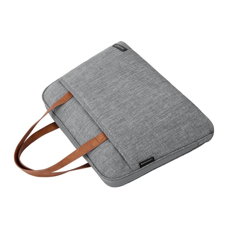 BAGSMART Nova Moda Homens De Nylon 14 Polegada Laptop Bag Famosa - Maletas - Foto 6
