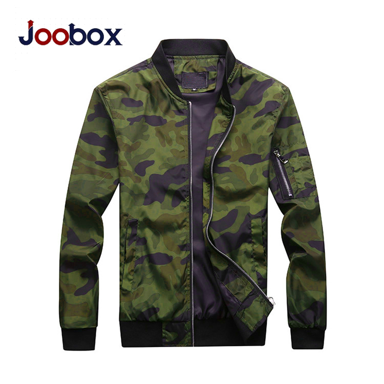 JOOBOX Для мужчин камуфляж куртки мужской пальто камуфляжная куртка Для мужчин s брендовая одежда верхняя одежда