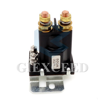 High Current 4 Pin 500A AMP car Relay On/Off Car Auto Power Switch Plastic Double Batteries Isolator continuous style