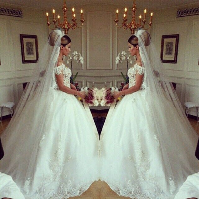 2016 latest design wedding dress romantic ball gown bridal for Romantic wedding dress designers
