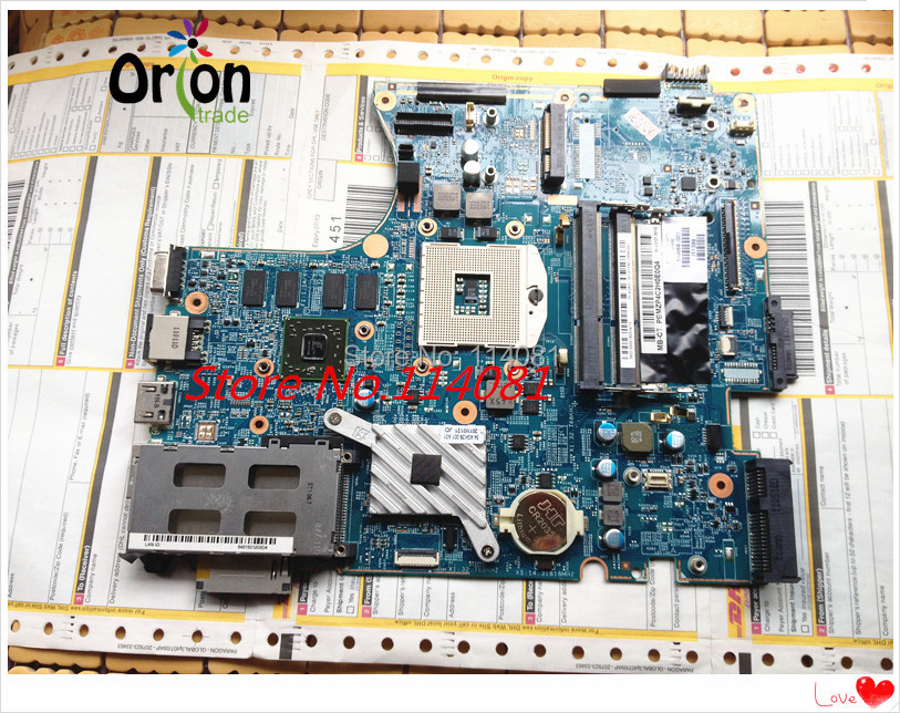 ФОТО 598668-001 for ProBook 4520S 4720S system Motherboard Tested Free shipping Original NEW