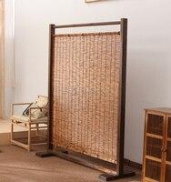 Классические Японские деревянные экраны деревянные разделители бамбуковые складные шторы для комнаты наружные разделители ширмы зональн