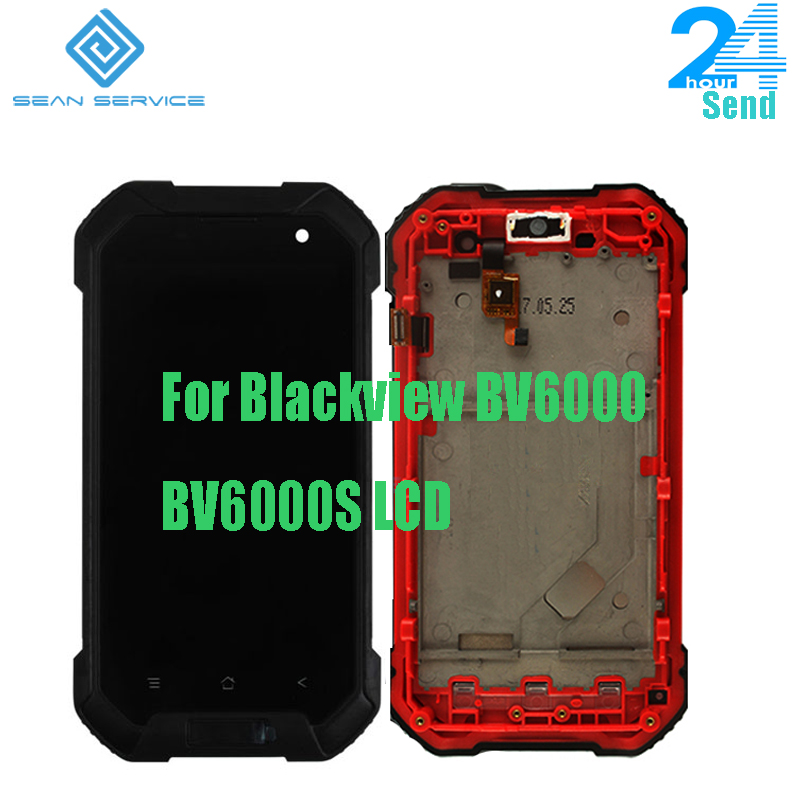 4.7 inch For Original FoBlackview BV6000 BV6000S LCD Display +Touch Screen + With Frame Digitizer Assembly 1280x720P Tools
